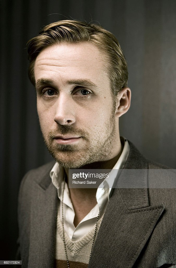 Actor Ryan Gosling is photographed for the Observer on December 13, 2010 in London, England.