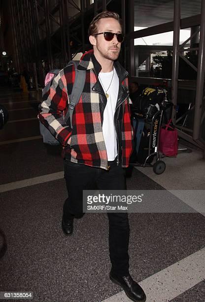 Actor Ryan Gosling is seen on January 9 2017 in Los Angeles California
