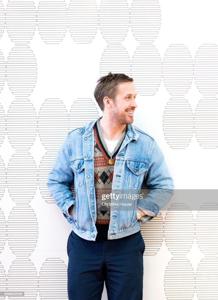 Actor Ryan Gosling of 'Blade Runner 2049' for Los Angeles Times on September 24, 2017 in Los Angeles, California.