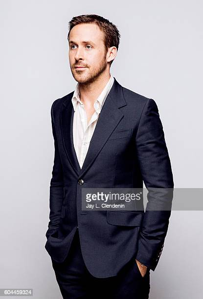 Actor Ryan Gosling of 'LA LA LAnd' poses for a portraits at the Toronto International Film Festival for Los Angeles Times on September 12 2016 in...