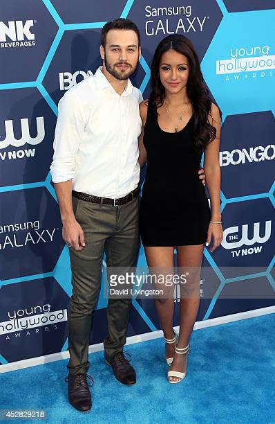 Melanie iglesias age getty images actor ryan guzman and tv personality melanie iglesias attend the 16th annual young hollywood awards at voltagebd Gallery