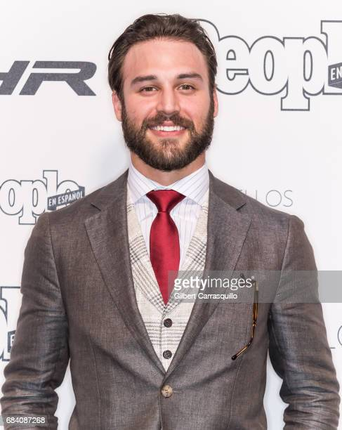 Actor Ryan Guzman arrives at People en Espanol's 50 Most Beautiful Gala 2017 at Espace on May 16 2017 in New York City