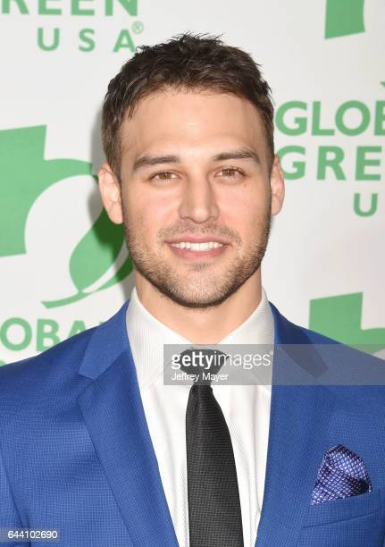Actor Ryan Guzman arrives at the 14th Annual Global Green PreOscar Gala at TAO Hollywood on February 22 2017 in Los Angeles California