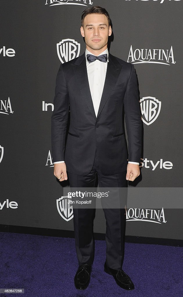Actor Ryan Guzman arrives at the 16th Annual Warner Bros. And InStyle Post-Golden Globe Party at The Beverly Hilton Hotel on January 11, 2015 in Beverly Hills, California.
