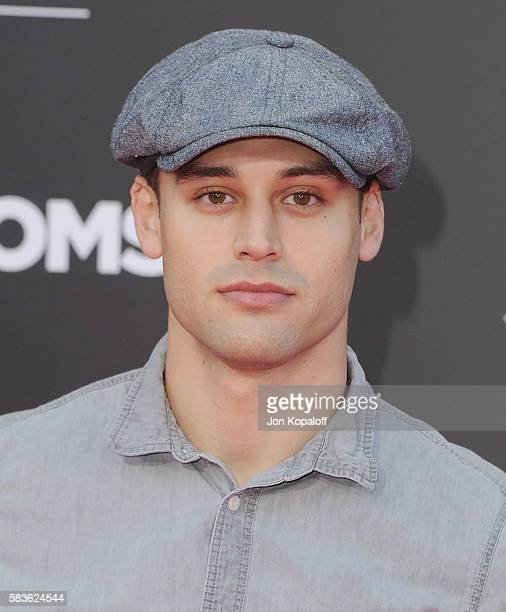 Actor Ryan Guzman arrives at the Los Angeles Premiere 'Bad Moms' at Mann Village Theatre on July 26 2016 in Westwood California