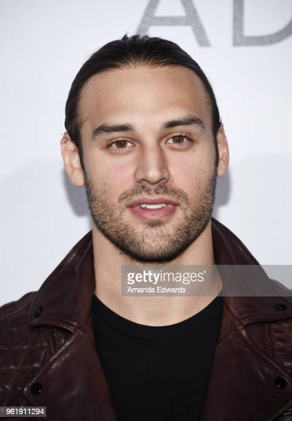 Actor Ryan Guzman arrives at the premiere of STX Films' 'Adrift' at the Regal LA Live Stadium 14 on May 23 2018 in Los Angeles California