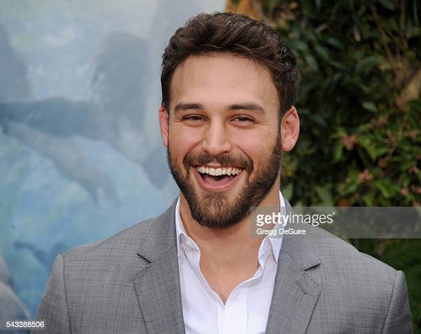 Actor Ryan Guzman arrives at the premiere of Warner Bros Pictures' 'The Legend Of Tarzan' at TCL Chinese Theatre on June 27 2016 in Hollywood...