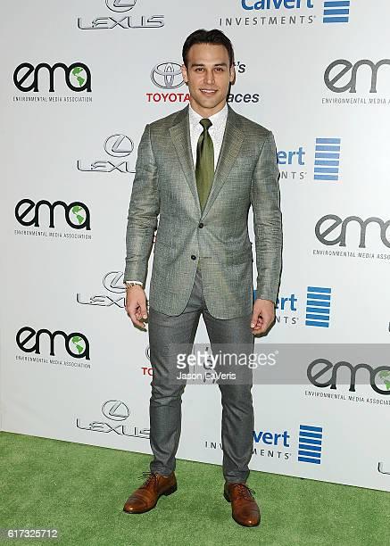Actor Ryan Guzman attends the 26th annual EMA Awards at Warner Bros Studios on October 22 2016 in Burbank California