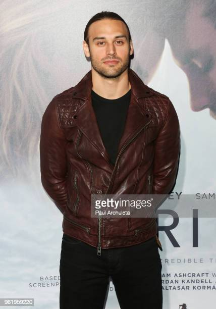 Actor Ryan Guzman attends the premiere of STX Films' 'Adrift' at Regal LA Live Stadium 14 on May 23 2018 in Los Angeles California