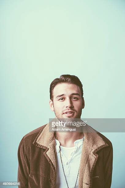 Actor Ryan Guzman for Variety on December 2 2014 in Los Angeles California PUBLISHED IMAGE