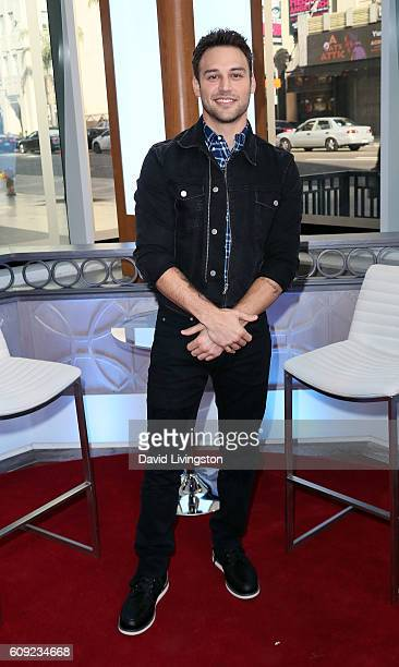 Actor Ryan Guzman visits Hollywood Today Live at W Hollywood on September 20 2016 in Hollywood California