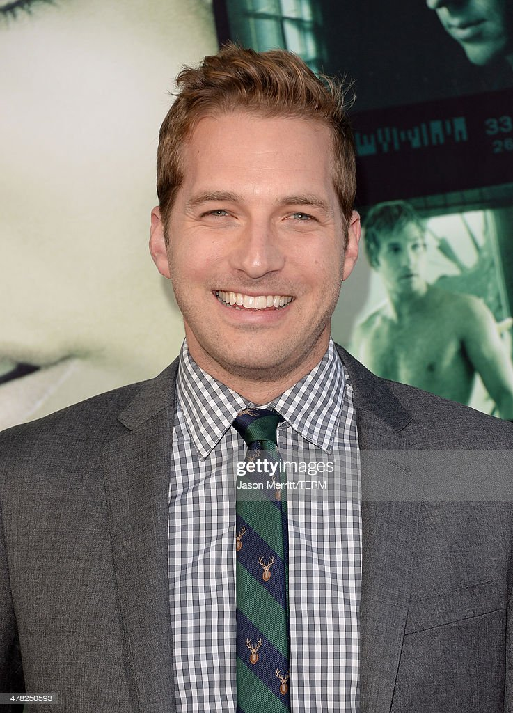 Actor Ryan Hansen arrives at the Los Angeles premiere of 'Veronica Mars' at TCL Chinese Theatre on March 12, 2014 in Hollywood, California.