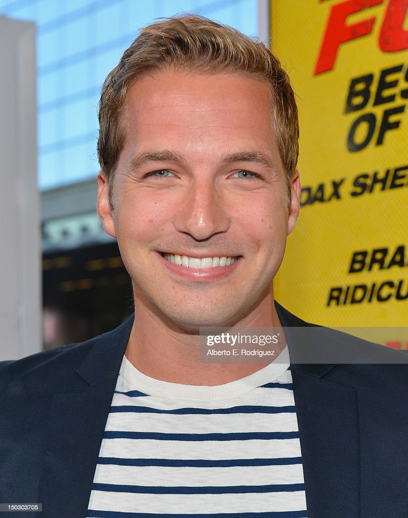 Actor Ryan Hansen arrives to the premiere of Open Road Films' 'Hit and Run' on August 14, 2012 in Los Angeles, California.
