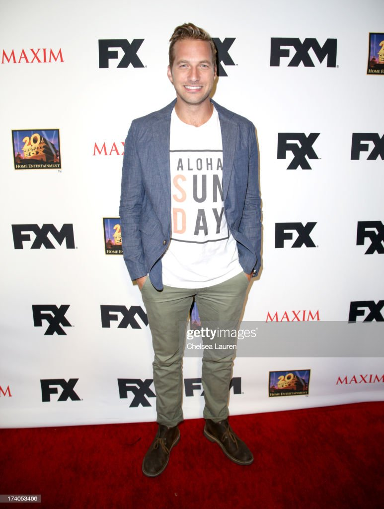 Actor Ryan Hansen attends the Maxim, FX and Home Entertainment Comic-Con Party on July 19, 2013 in San Diego, California.
