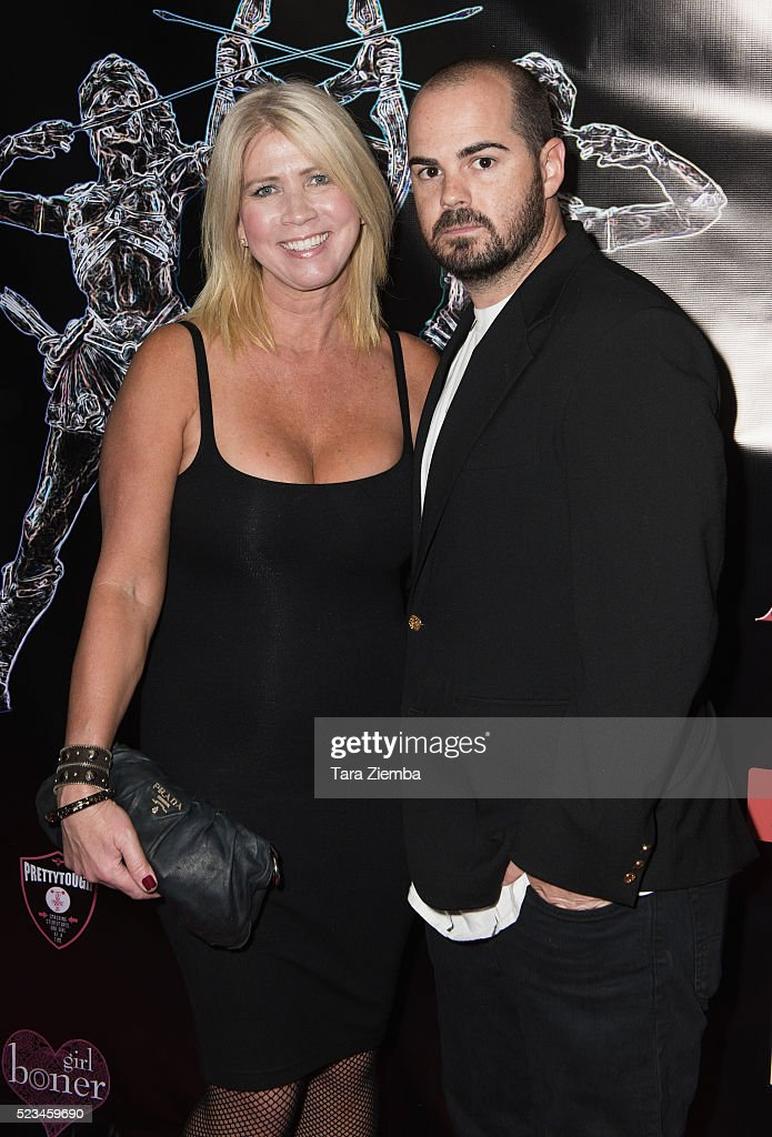 Actor Ryan Huggins and Jamie Lawrence attend the 2nd Annual Artemis Film Festival-Red Carpet Opening Night/Awards Presentation at Ahrya Fine Arts Movie Theater on April 22, 2016 in Beverly Hills, California.