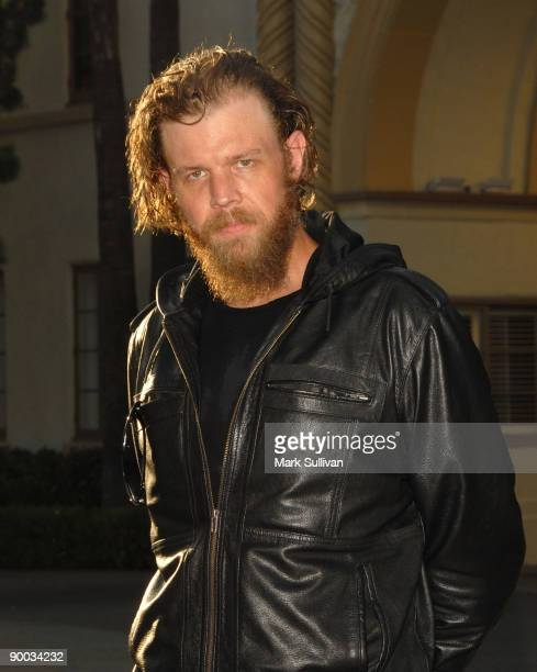 Actor Ryan Hurst arrives at the season two premiere screening of Sons Of Anarchy at the Paramount Theater on the Paramount Studios lot on August 23...