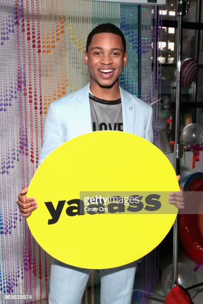 Actor Ryan Jamaal Swain attends as BuzzFeed hosts its 2nd Annual Queer Prom Powered by Samsung For LGBTQ Youth at Samsung 837 on June 1 2018 in New...