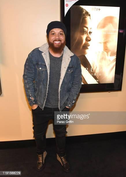 Actor Ryan James attends Apple TV's Truth Be Told Atlanta screening at AMC Parkway Pointe on December 02 2019 in Atlanta Georgia