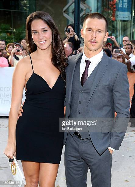 Actor Ryan Kwanten and guest arrive at 'The Right Kind Of Wrong' premiere during the 2013 Toronto International Film Festival at Roy Thomson Hall on...