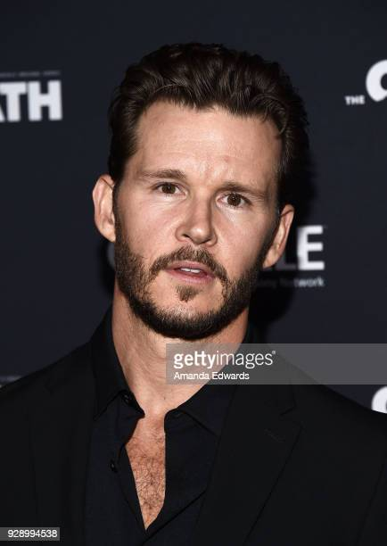 Actor Ryan Kwanten arrives at Crackle's 'The Oath' premiere at Sony Pictures Studios on March 7 2018 in Culver City California