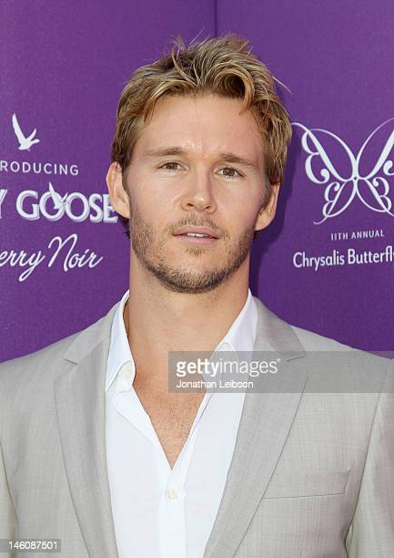 Actor Ryan Kwanten arrives at the 11th Annual Chrysalis Butterfly Ball held at a private residence on June 9 2012 in Los Angeles California