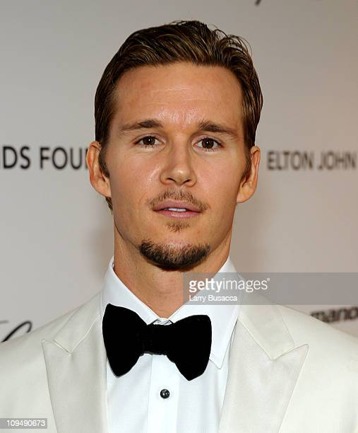 Actor Ryan Kwanten arrives at the 19th Annual Elton John AIDS Foundation Academy Awards Viewing Party at the Pacific Design Center on February 27...