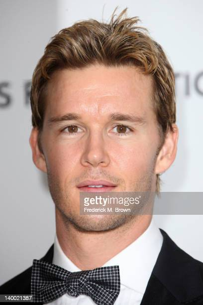 Actor Ryan Kwanten arrives at the 20th Annual Elton John AIDS Foundation's Oscar Viewing Party held at West Hollywood Park on February 26 2012 in...