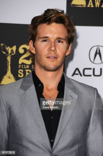 Actor Ryan Kwanten arrives at the 25th Film Independent Spirit Awards held at Nokia Theatre LA Live on March 5 2010 in Los Angeles California