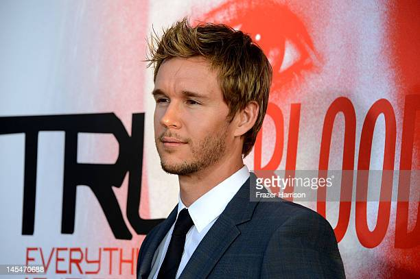 """Actor Ryan Kwanten arrives at the Premiere of HBO's """"True Blood"""" 5th Season at ArcLight Cinemas Cinerama Dome on May 30, 2012 in Hollywood,..."""