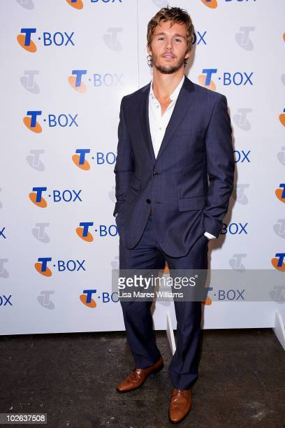 Actor Ryan Kwanten arrives at the Telstra TBox Party at Simmer on the Bay on July 6 2010 in Sydney Australia