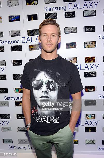 Actor Ryan Kwanten attends Day 4 of The Samsung Galaxy Experience on July 21 2013 in San Diego California