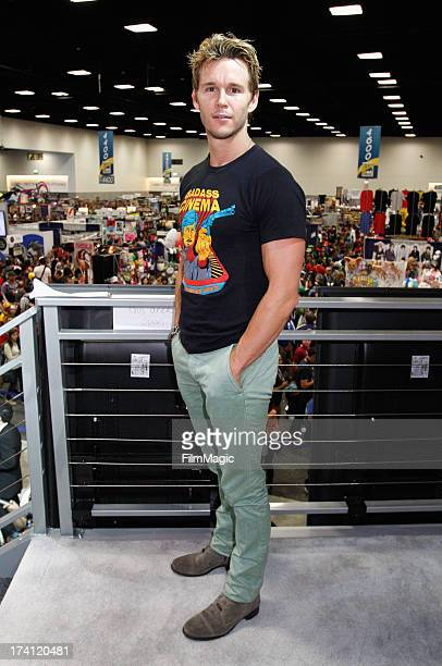 Actor Ryan Kwanten attends HBO's 'True Blood' Cast Autograph Signing at San Diego Convention Center on July 20 2013 in San Diego California