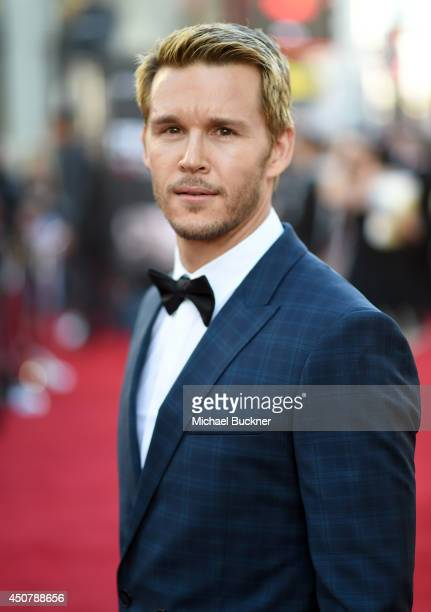 Actor Ryan Kwanten attends Premiere Of HBO's True Blood Season 7 And Final Season at TCL Chinese Theatre on June 17 2014 in Hollywood California