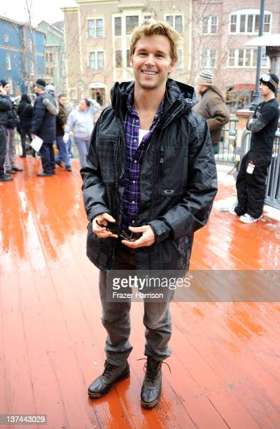 Actor Ryan Kwanten attends the 2012 Sundance Film Festival on January 20 2012 in Park City Utah