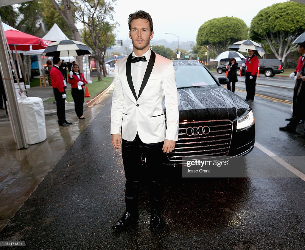 Audi Arrivals At 23rd Annual Elton John AIDS Foundation Academy Awards Viewing Party