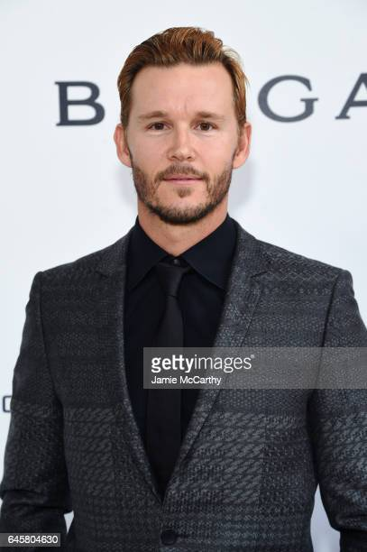 Actor Ryan Kwanten attends the 25th Annual Elton John AIDS Foundation's Academy Awards Viewing Party at The City of West Hollywood Park on February...