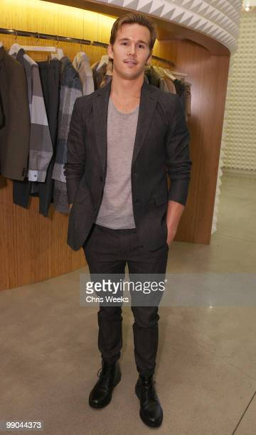 Actor Ryan Kwanten attends the 31 Phillip Lim Men's Fall 2010 preview dinner on May 11 2010 in West Hollywood California