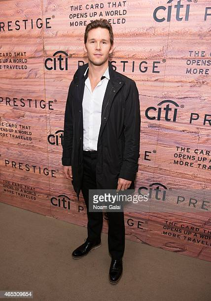 Actor Ryan Kwanten attends the Citi Prestige Card Australia event at The Waterfall Mansion on March 5 2015 in New York City
