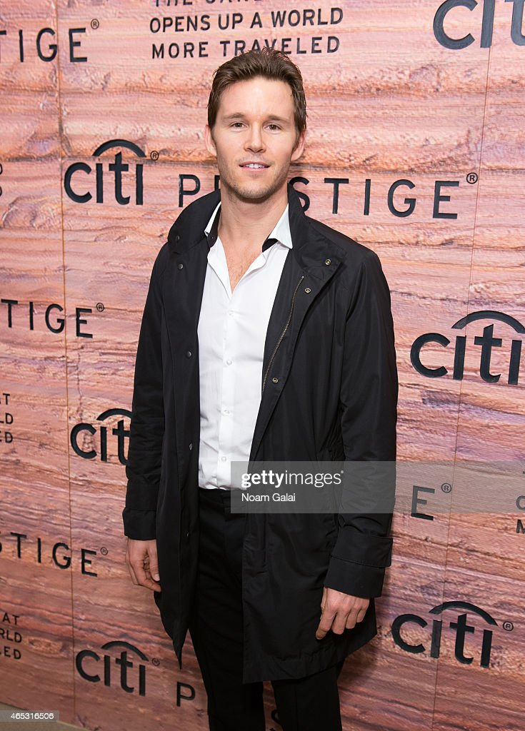 Actor Ryan Kwanten attends the Citi Prestige Card Australia event at The Waterfall Mansion on March 5, 2015 in New York City.