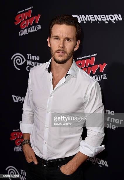 Actor Ryan Kwanten attends the premiere of Dimension Films' 'Sin City A Dame To Kill For' at TCL Chinese Theatre on August 19 2014 in Hollywood...