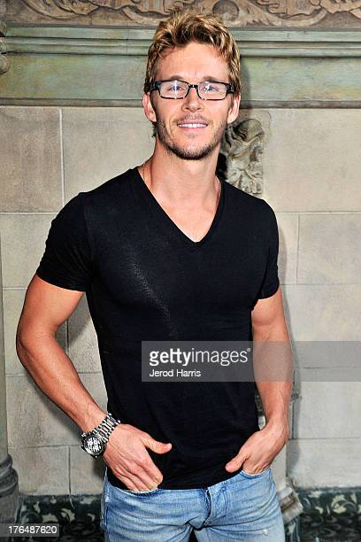 Actor Ryan Kwanten attends Timberland History Heritage and Fall 2013 Collection Dinner at Chateau Marmont on August 13 2013 in Los Angeles California