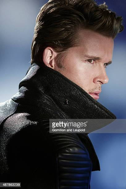 Actor Ryan Kwanten is photographed for Self Assignment on March 16 2012 in Los Angeles California