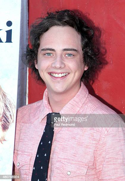 Actor Ryan Malgarini attends the screening of Mance Media's 'The Young Kieslowski' at the Vista Theatre on July 14 2015 in Los Angeles California