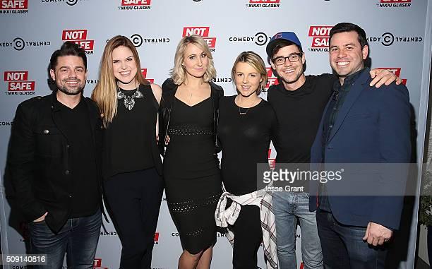 Actor Ryan Manno radio personality Jillian Escoto comedian Nikki Glaser TV personality Ali Fedotowsky radio personality Kevin Manno and executive...