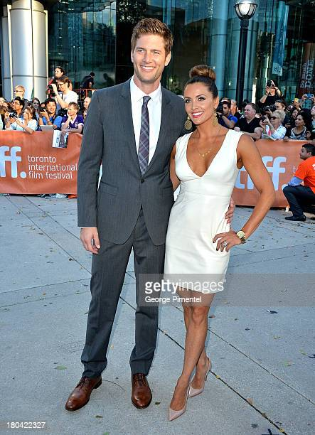 Actor Ryan McPartlin and Danielle Kirlin arrive at The Right Kind Of Wrong Premiere during the 2013 Toronto International Film Festival at Roy...