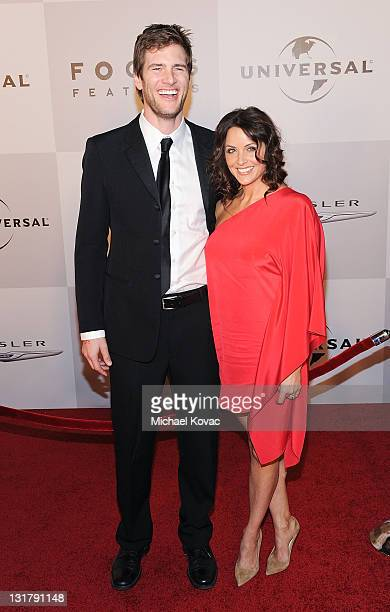 Actor Ryan McPartlin and wife Danielle Kirlin arrives at NBC Universal's 68th Annual Golden Globes After Party at The Beverly Hilton Hotel on January...