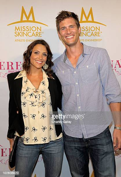 Actor Ryan McPartlin and wife Danielle Kirlin attend professional tennis player Serena Williams' PreESPYs House Party held at a private residence on...