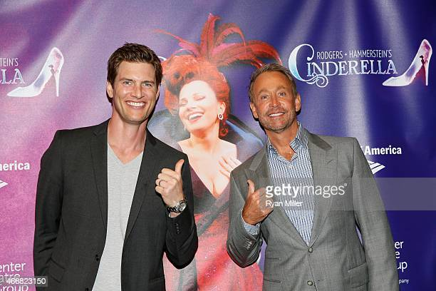 Actor Ryan McPartlin and writer Peter Marc Jacobson arrive for the opening night performance of 'Rodgers Hammerstein's Cinderella' at Center Theatre...