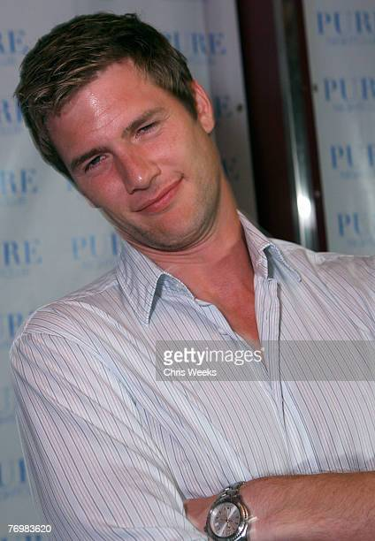 Actor Ryan McPartlin attends NBC's CHUCK premiere party at PURE Nightclub on September 22 2007 in Las Vegas Nevada