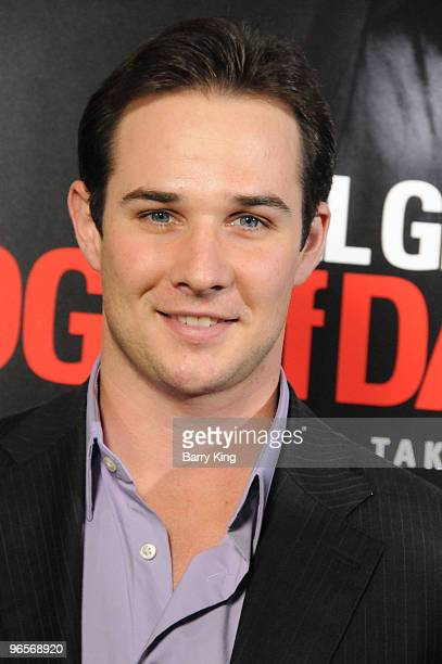 Actor Ryan Merriman arrives at the Los Angeles Premiere 'Edge Of Darkness' at Grauman's Chinese Theatre on January 26 2010 in Hollywood California